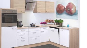 L-Küche oder Winkelküche