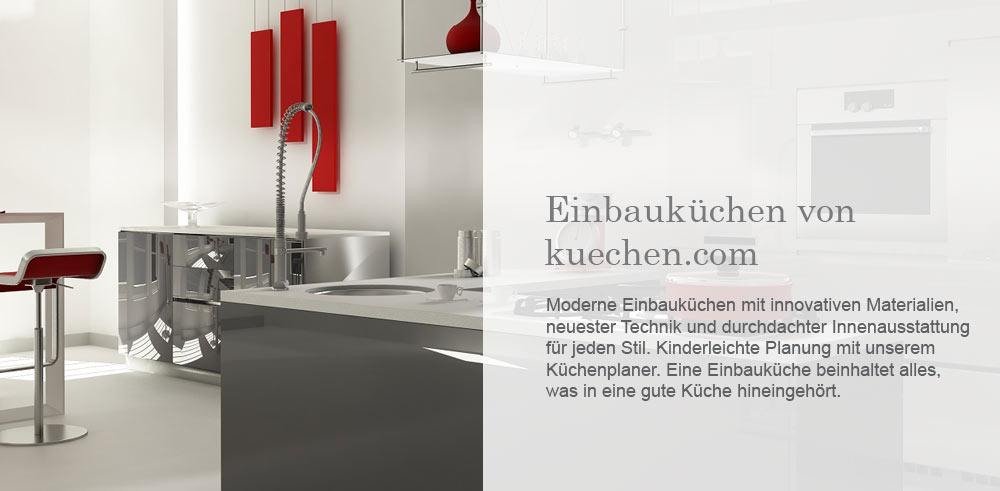 Einbauküchen planen und kaufen bei kuechen.com