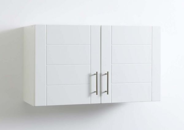 Klassischer hochglanz küchen hängeschrank in weiß 100 cm kuechen com