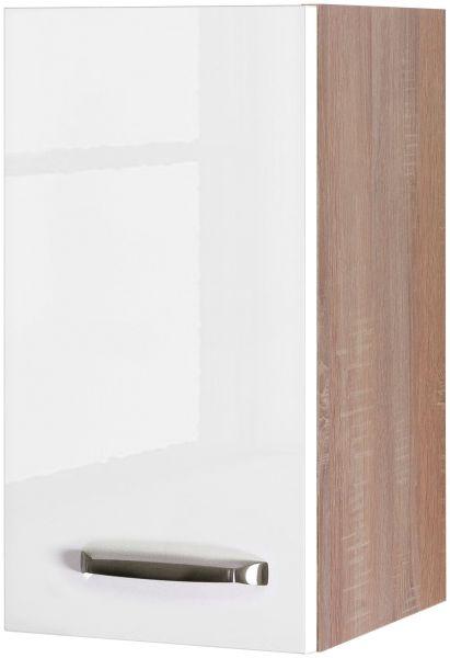 Küchen Oberschrank weiß glänzend Feriol 50 cm