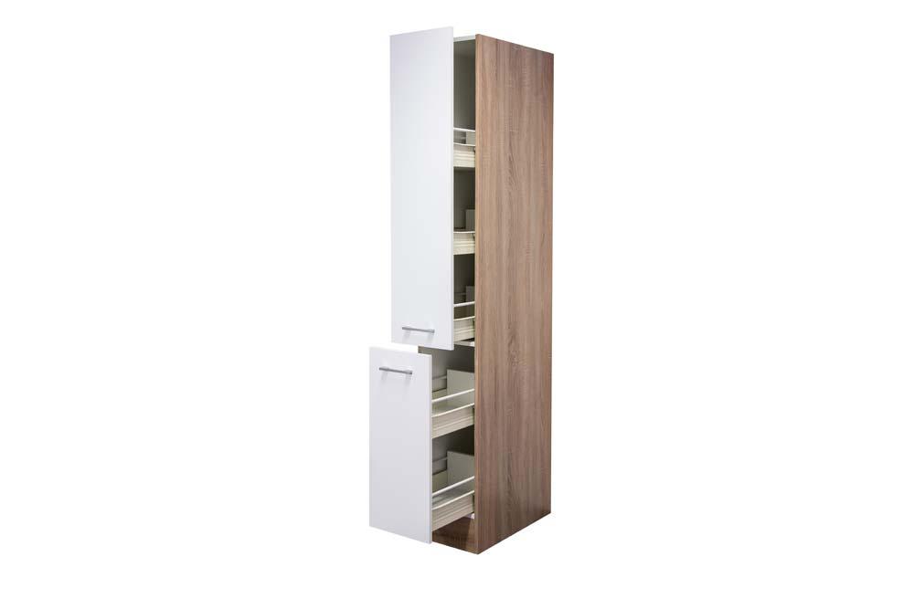 apothekerschrank hochglanz wei h he 200 cm. Black Bedroom Furniture Sets. Home Design Ideas