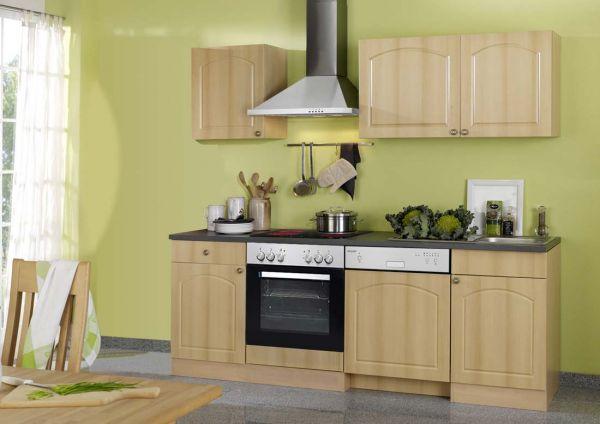 Küchenleerblock 220 cm Buche dekor