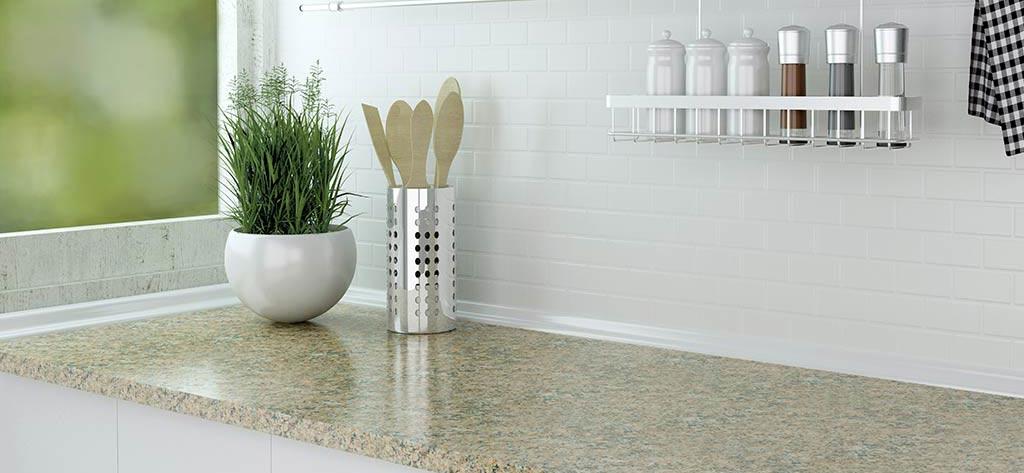 Küchenarbeitsplatte aus Marmor