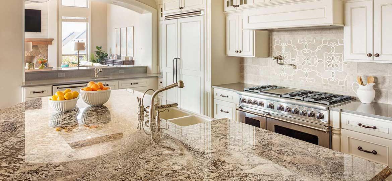 Robuste Küchenarbeitsplatten