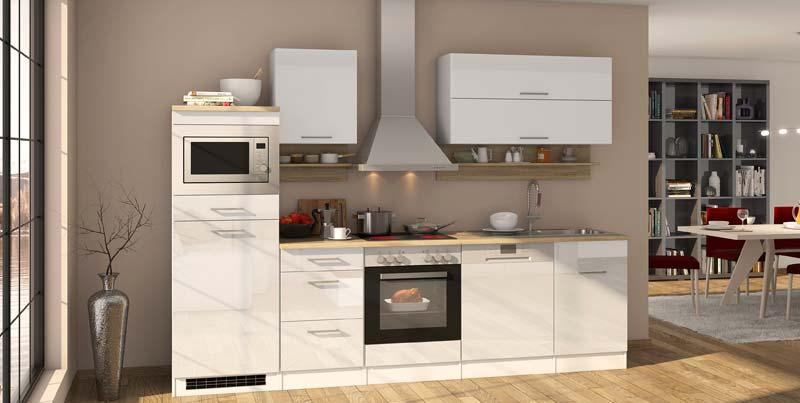 Designer Küche ohne Elektrogeräte