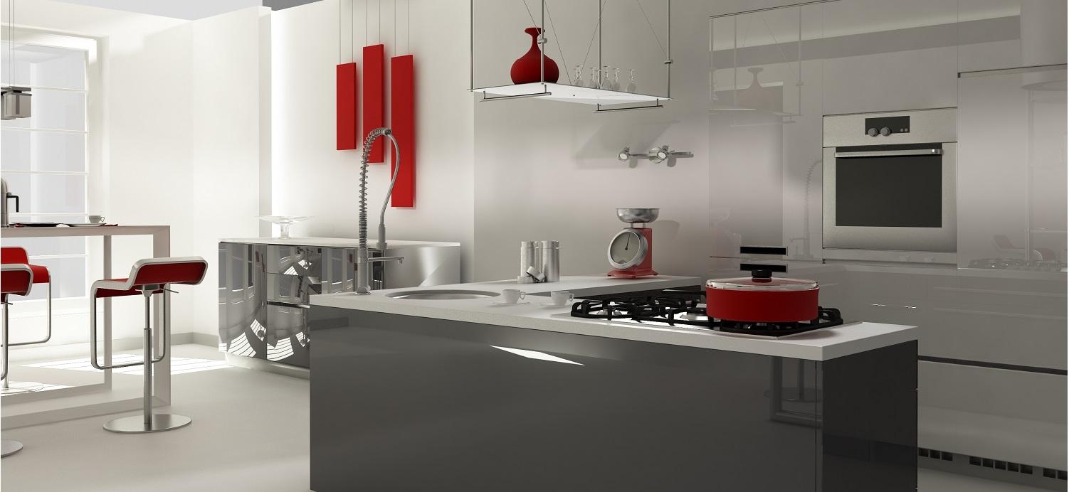 Kücheninsel / Kochinsel sehr modern und klassisch im Design